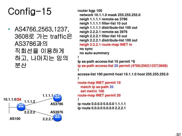 Config-15