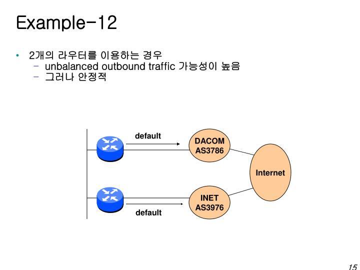 Example-12