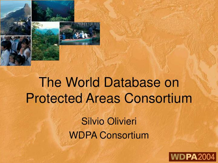 the world database on protected areas consortium n.