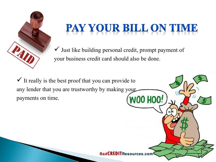 Pay your Bill on Time