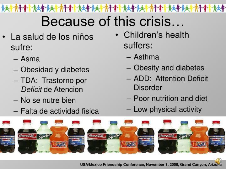 La salud de los ni