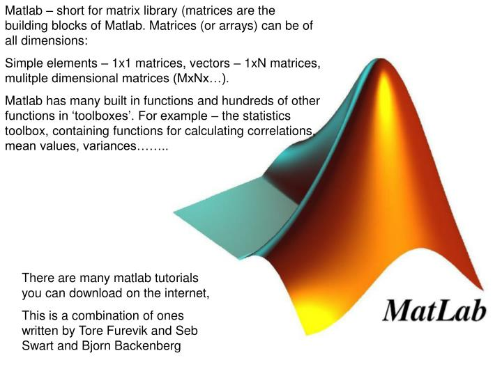 Matlab Tutorial For Beginners With Examples