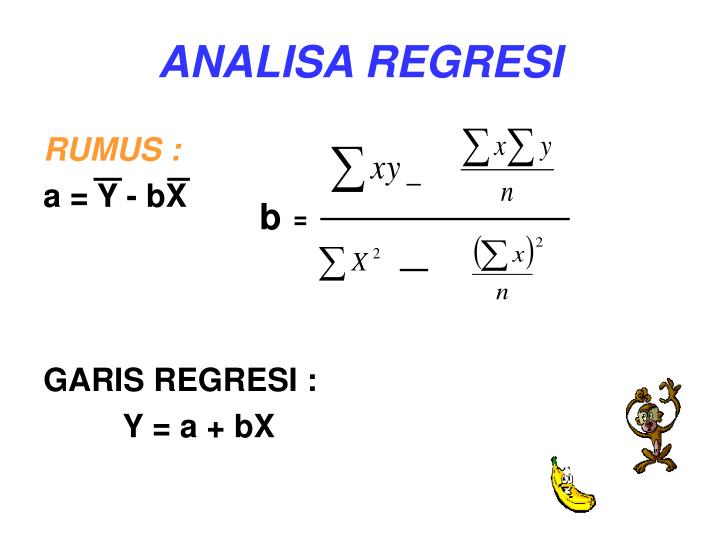 ANALISA REGRESI