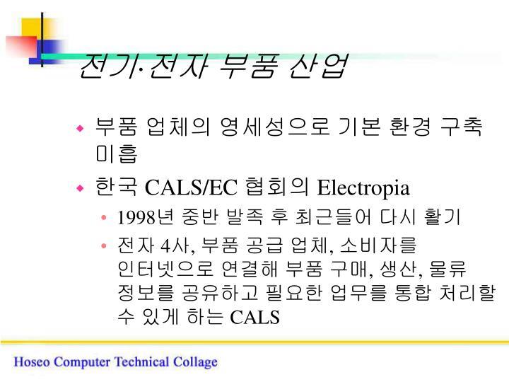 전기·전자 부품 산업