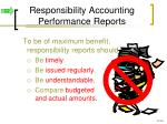 responsibility accounting performance reports2