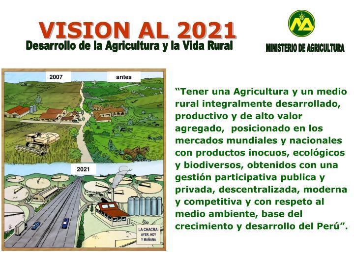 Vision al 2021