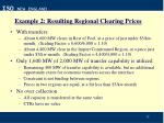 example 2 resulting regional clearing prices