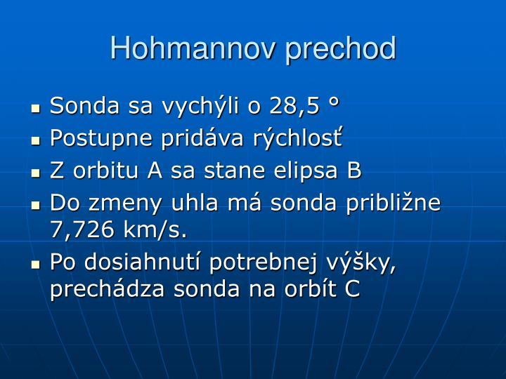 Hohmannov prechod