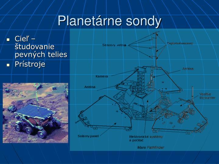 Planetárne sondy