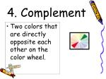 4 complement