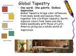 global tapestry