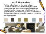 local momentum