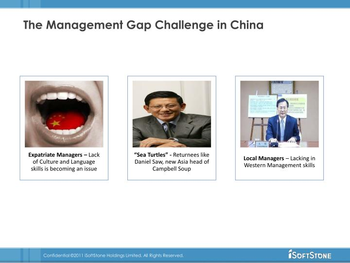 The Management Gap Challenge in China