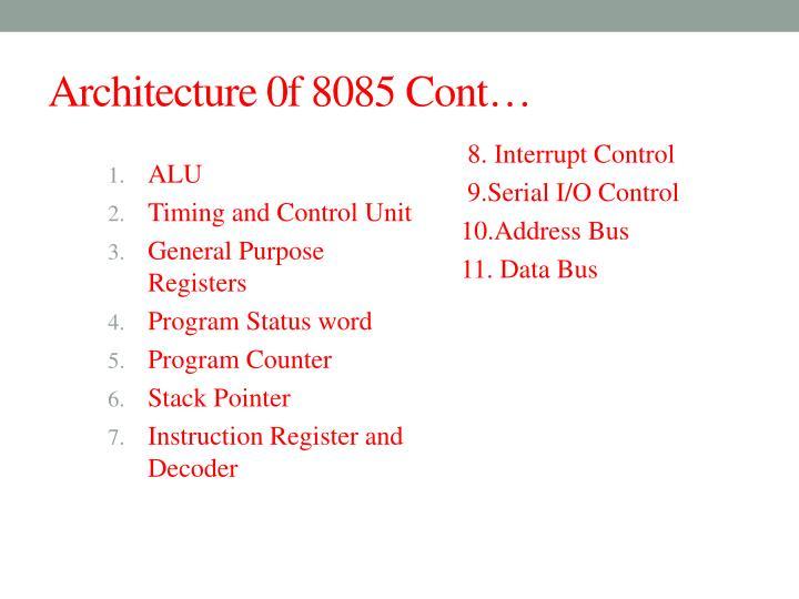 Ppt 8085 microprocessor powerpoint presentation id5955544 alu ccuart Choice Image