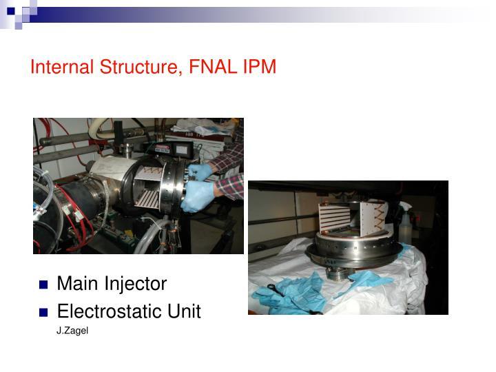 Internal Structure, FNAL IPM