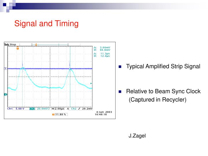 Signal and Timing