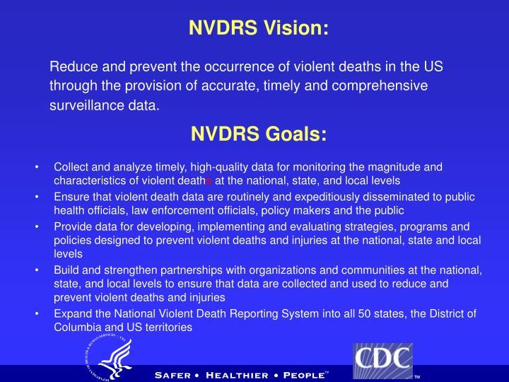 NVDRS Vision: