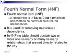 fourth normal form 4nf1
