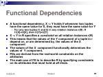 functional dependencies1