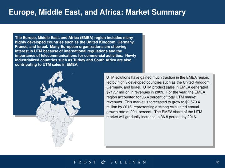 Europe, Middle East, and Africa: Market Summary