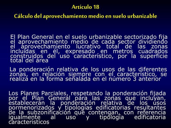 Artículo 18