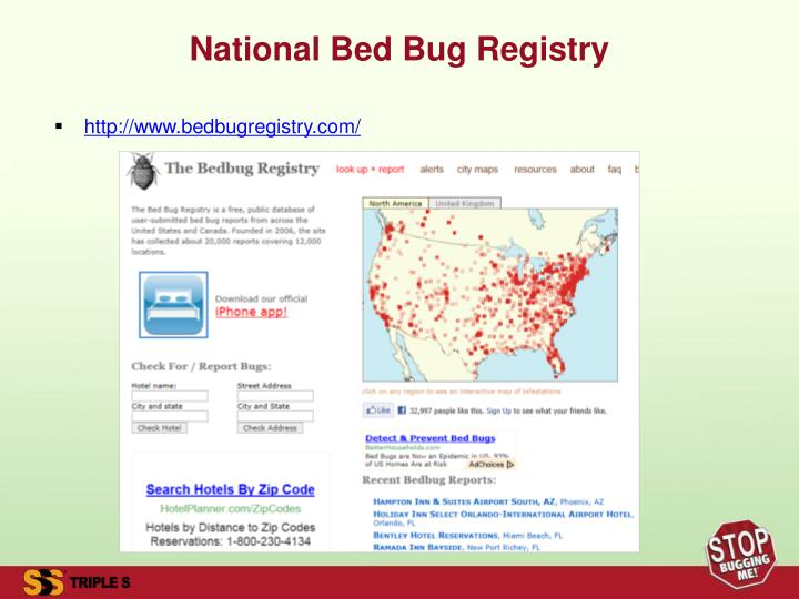 Bed Bug Registry Chicago