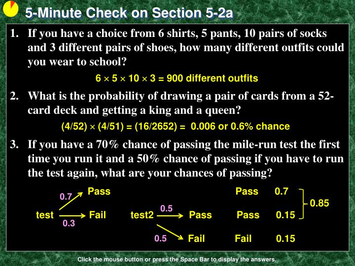 5-Minute Check on Section 5-2a