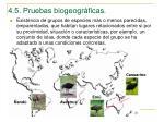 4 5 pruebas biogeogr ficas