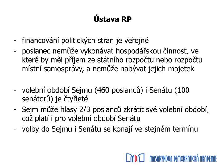 Ústava RP