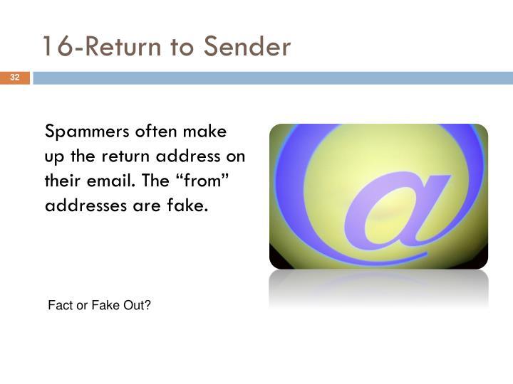 16-Return to Sender