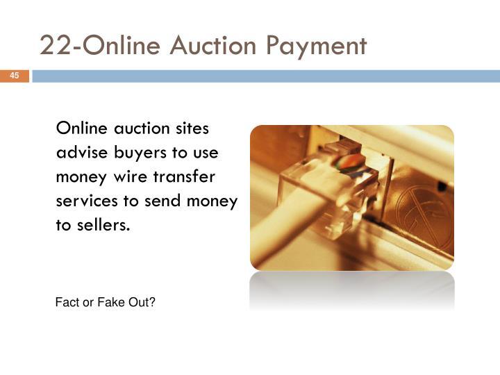 22-Online Auction Payment