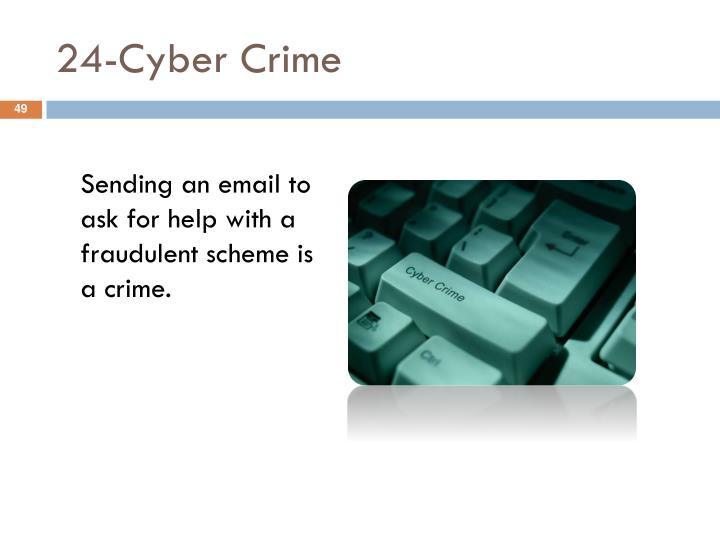 24-Cyber Crime