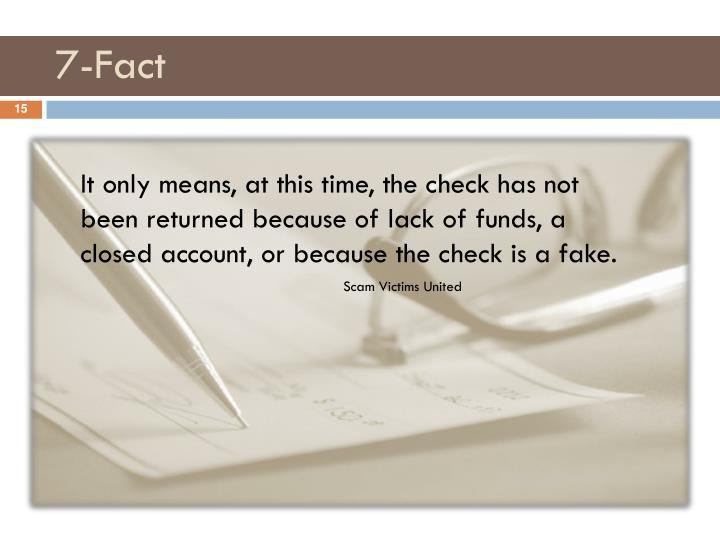 7-Fact