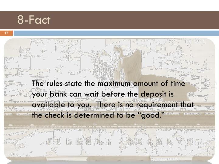 8-Fact
