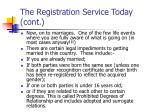 the registration service today cont11