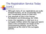 the registration service today cont2