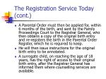 the registration service today cont3