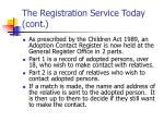 the registration service today cont6