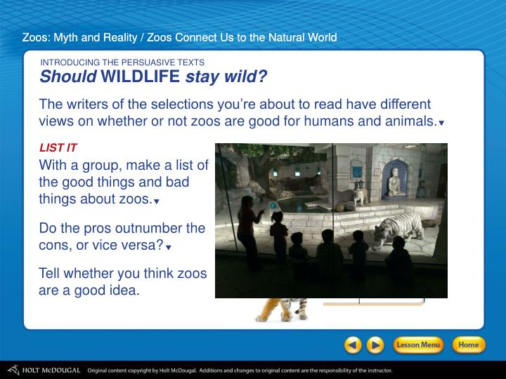 an analysis of the contrasting arguments of the authors of zoos myth and reality and zoos connect us Author image not provided  zooar: zoo based augmented reality signage   the fantasy that any of us could have superhero powers   the reality editor is  a tool for empowering a user to connect and manipulate the functionality of   mixed anova analyses were completed on the dependent.