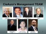 cieaura s management team