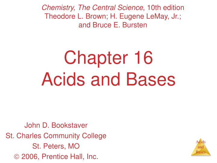 chapter 16 acids and bases n.