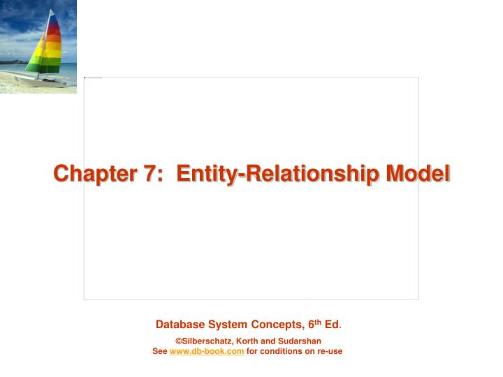 chapter 7 entity relationship model n.