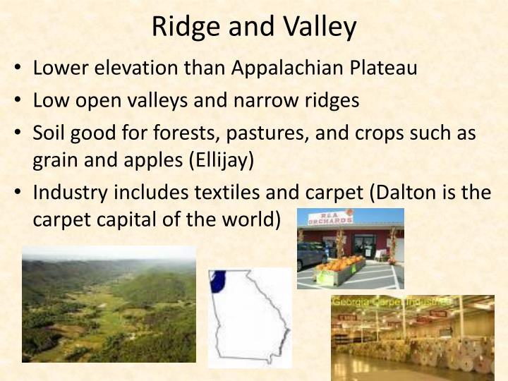 Ridge and Valley
