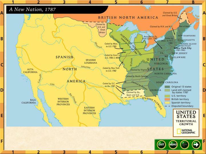 U s expansion 1787