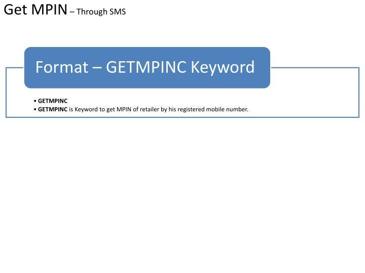 Get MPIN