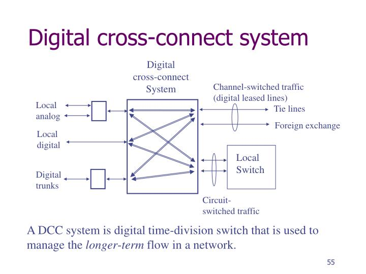 Digital cross-connect system