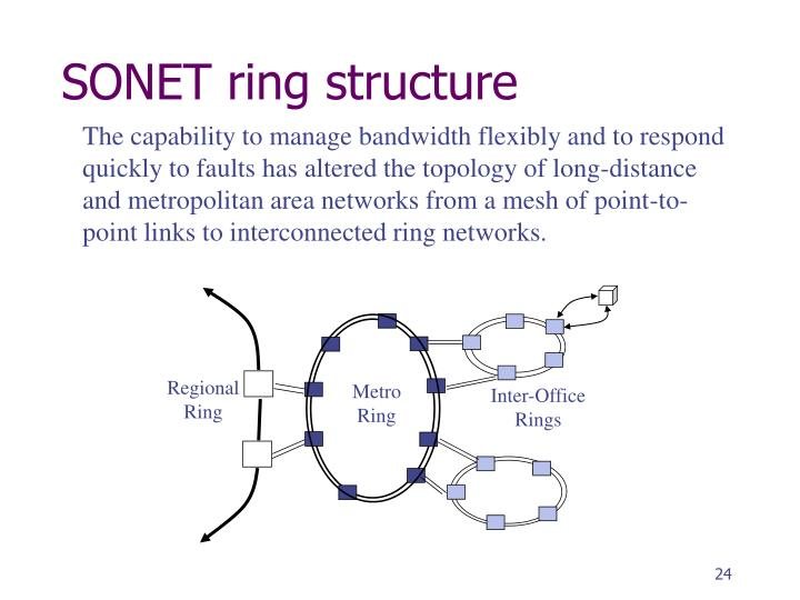 SONET ring structure