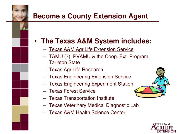 Become a County Extension Agent