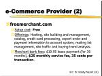e commerce provider 2
