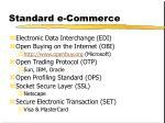 standard e commerce